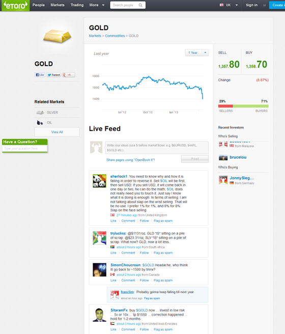 eToro - gold screen >>>