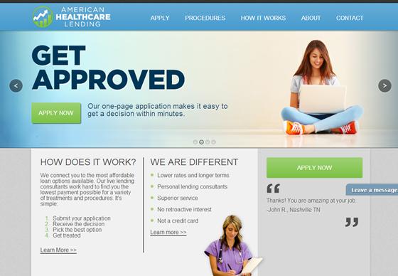 American Healthcare Lending >>>