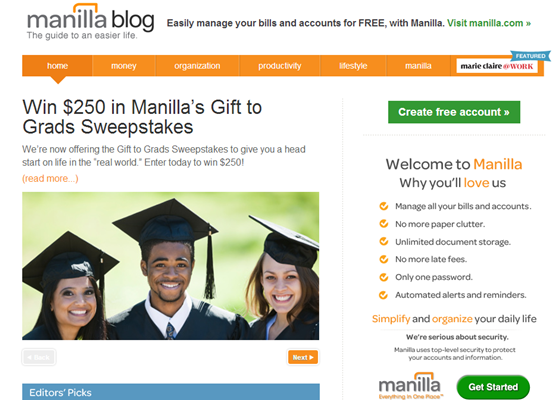 Manilla Blog >>>