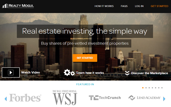 Realty Mogul -  Passive Real Estate Investing  Simplified.